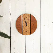 Louis Charlett Woodworking Wall Clock Made in Maine USA