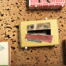 The Good Supply Midcoast Artisan Store Matchbook Artwork Eyes made by Margaret Rizzio in Maine USA