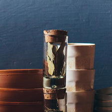 The Good Supply in Pemaquid Maine Artist Bitters Co Recycled Glass Container Spice Jar made in Mexico and Portugal