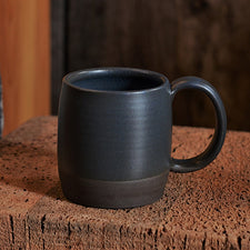 The Good Supply Pemaquid Maine Artisan Store Ceramics Artist Natania Hume of Vermont Slow Studio Earthenware Clay Body Mug Dusk Made in USA