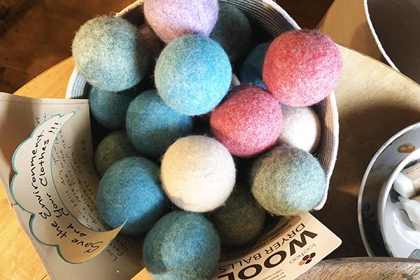 The Good Supply in Pemaquid Maine Artist Collection LooHoo Dryer Balls Made in USA