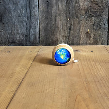The Good Supply in Pemaquid Maine Artist Collection Maple Landmark Sustainably Harvested Wood Earth Yo-Yo made in USA