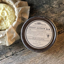 The Good Supply in Pemaquid Maine Artist Collection SoulShine Soap Co. Eco-friendly Lotion Bar Made in USA Unscented