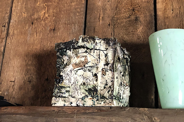 The Good Supply Pemaquid Maine Environmental Artist Jonathan Mess Ceramic Reclaim No 32 Made in Maine USA