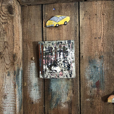 The Good Supply Pemaquid Maine Environmental Artist Jonathan Mess Ceramic Sculpture Wall Tile Erosion Slab No 1 Made in Maine USA