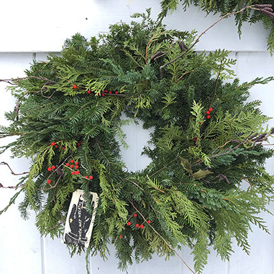 Wild Maine Wreaths for Pick-Up Only