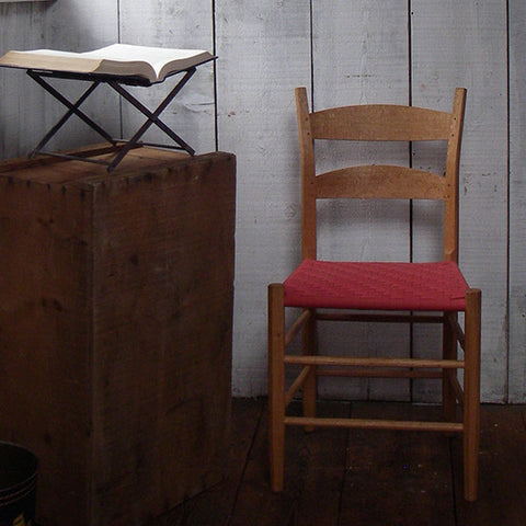 Shaker Rung and Ladder Back Chair | The Carpenter's Boat Shop