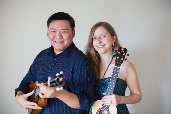 Artist Spotlight: Sarah Maisel & Craig Chee - A match made in Ukulele Heaven | Fusion-Bags.com