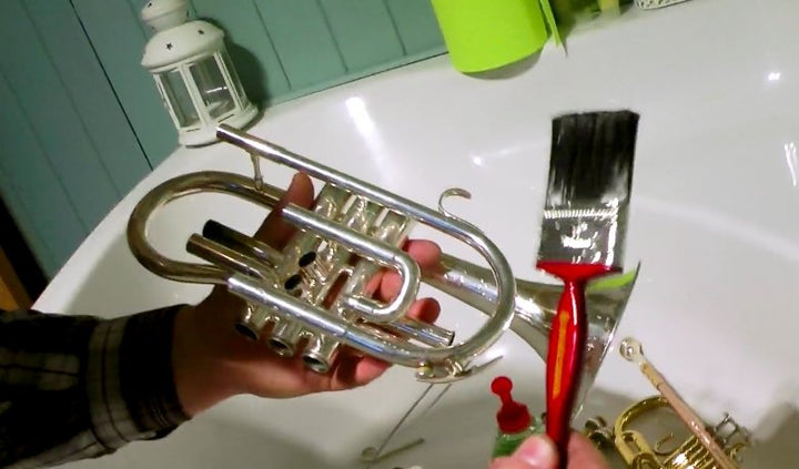 How to Clean a Cornet or Trumpet | Fusion-Bags.com