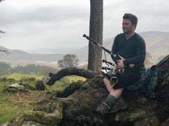 Artist Spotlight: Grant MacLeod - The Munro Bagpiper
