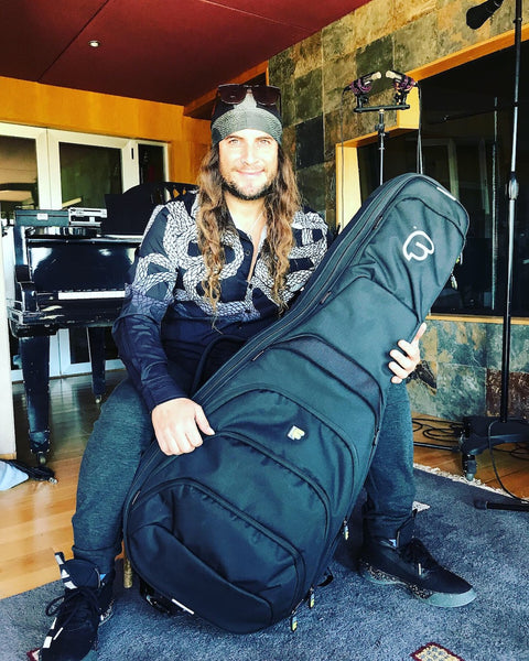 El Amir with his Fusion Gig Bag