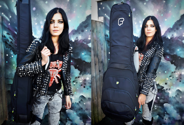 Becky Baldwin with Fusion Bass Bags