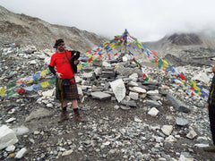 Craig McFarlane Bagpipe Everest Base Camp