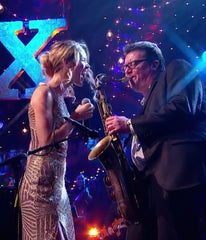 Phil Veacock with Joss Stone