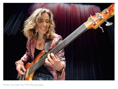 Women in Music: Ariane Cap - Bassist, Educator, Author, Blogger