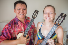 Learn to play the ukulele like Craig Chee and Sarah Maisel