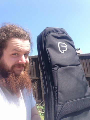 The Dolmen and their Fusion Gig Bags
