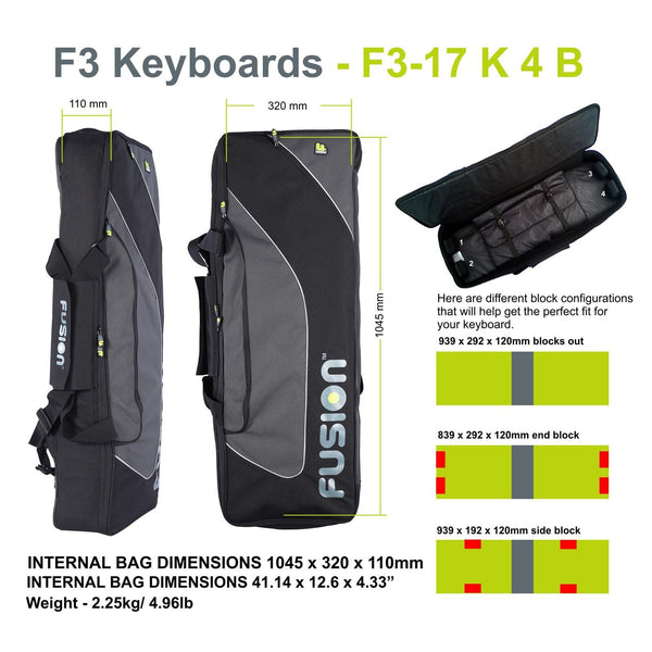Keyboard 04 (49-61 keys) - Fusion-Bags.com
