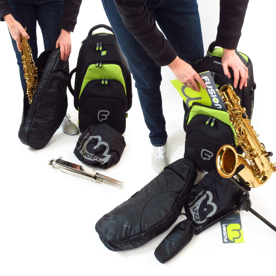 Gig Bag for Premium Alto Saxophone Bag, Woodwind Gig Bags,- Fusion-Bags.com