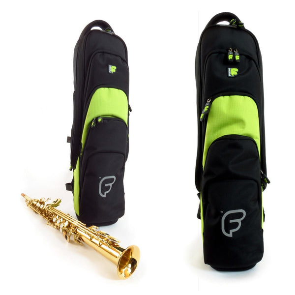 Front view of Fusion Premium Soprano Saxophone Gig Bag