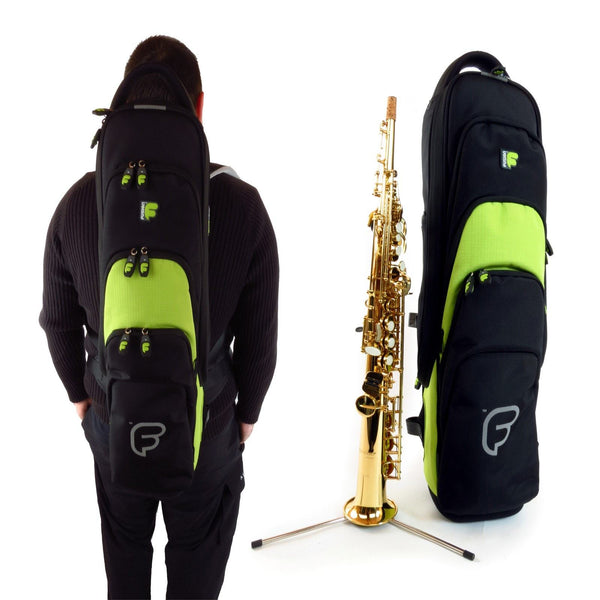 Gig Bag for Premium Soprano Saxophone / Clarinet / Flute, Woodwind Gig Bags,- Fusion-Bags.com