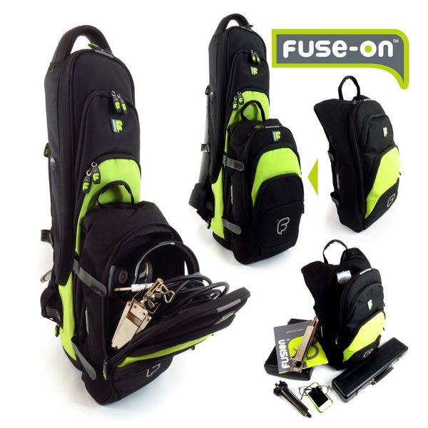 Fuse-on bags for additional accessories for Fusion Premium Soprano Saxophone Gig Bag