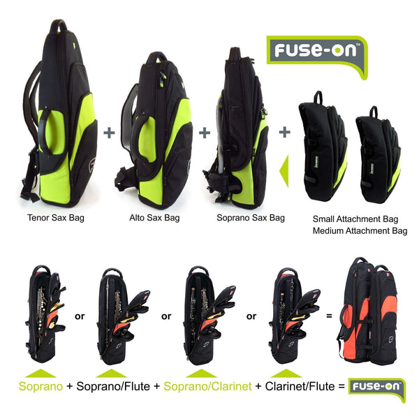 More options to fuse-on for Fusion Premium Soprano Saxophone Gig Bag