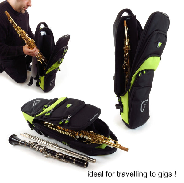 Fusion Premium Soprano Saxophone Gig Bag is also suitable for Clarinet and Flute