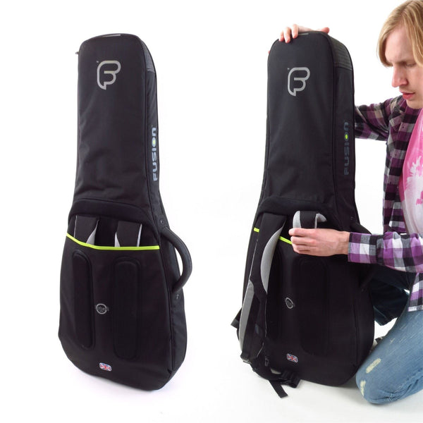 Urban Series Electric Guitar Gig Bag store-away backpack straps