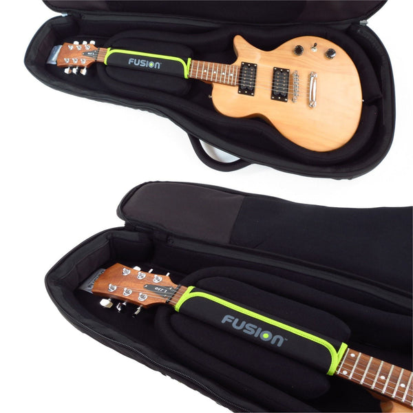Headstock protection inside Urban Series Electric Guitar Gig Bag