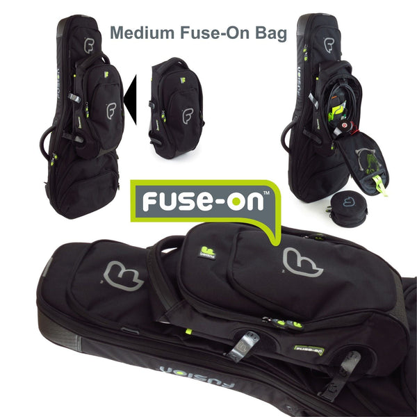 Medium Fuse-on bag in the middle of the bag
