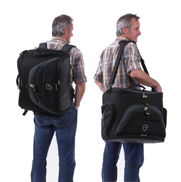 Workstation DJ gig bag two carry options