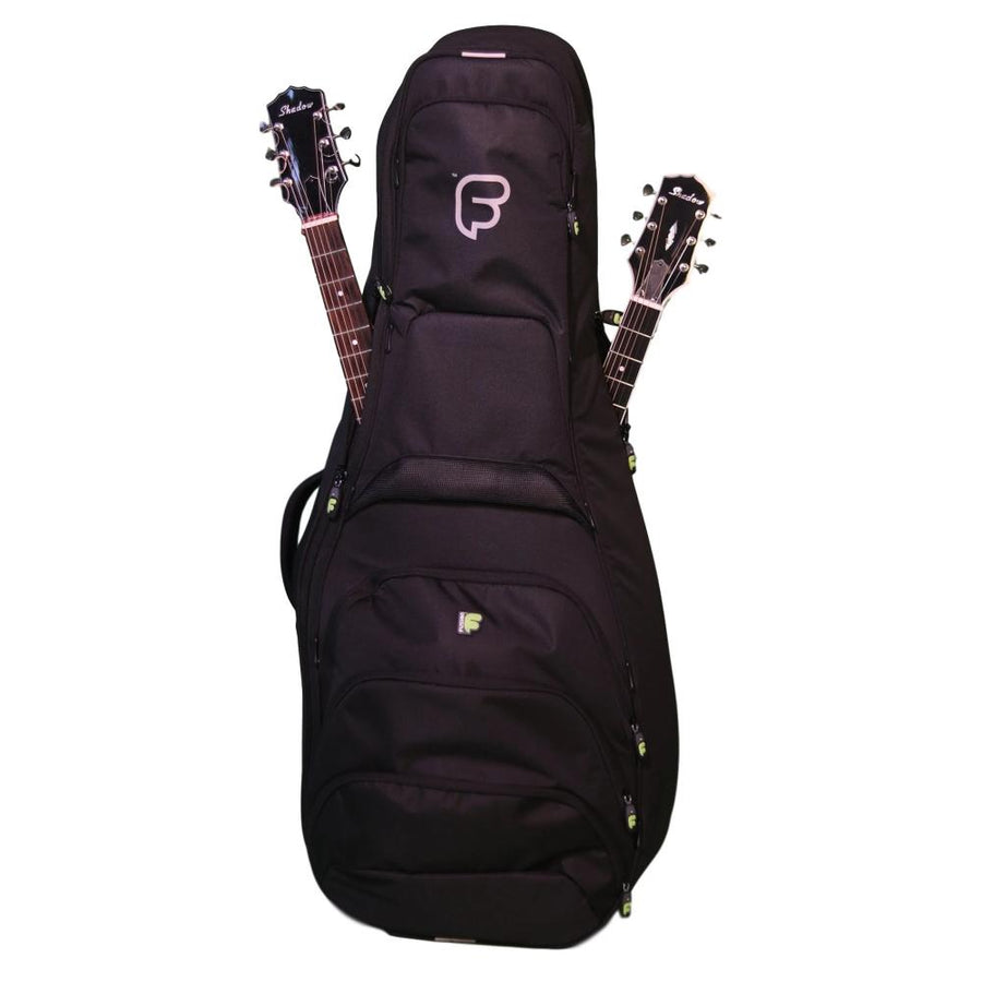 Double Guitar Bag for Acoustic and Electric Guitars - Double Guitar Bag for Acoustic and Electric Guitars - Fusion-Bags.com