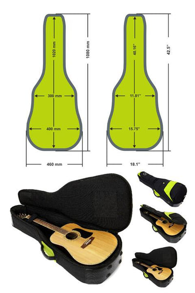 F1 Classical Guitar 4/4 Bag - F1 Classical Guitar 4/4 Bag - Fusion-Bags.com