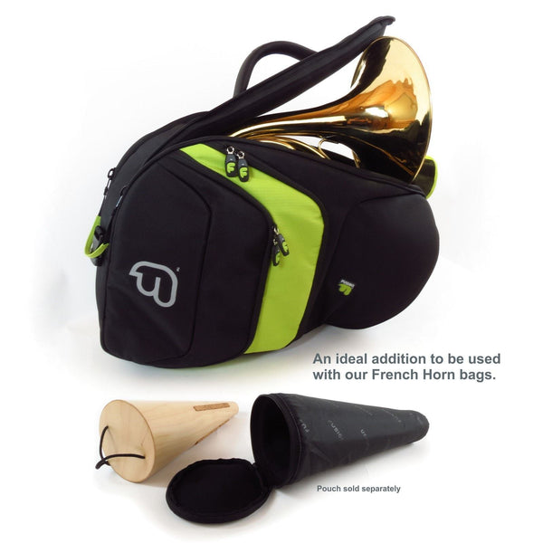 Gig Bag for French Horn Mute Pouch, Brass Gig Bags,- Fusion-Bags.com - French Horn Mute Pouch - Fusion-Bags.com