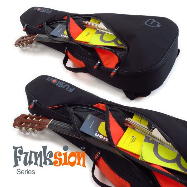 Gig Bag for Funksion Classical Guitar 4/4, Guitar and Bass Bags,- Fusion-Bags.com - Funksion Classical Guitar 4/4 - Fusion-Bags.com
