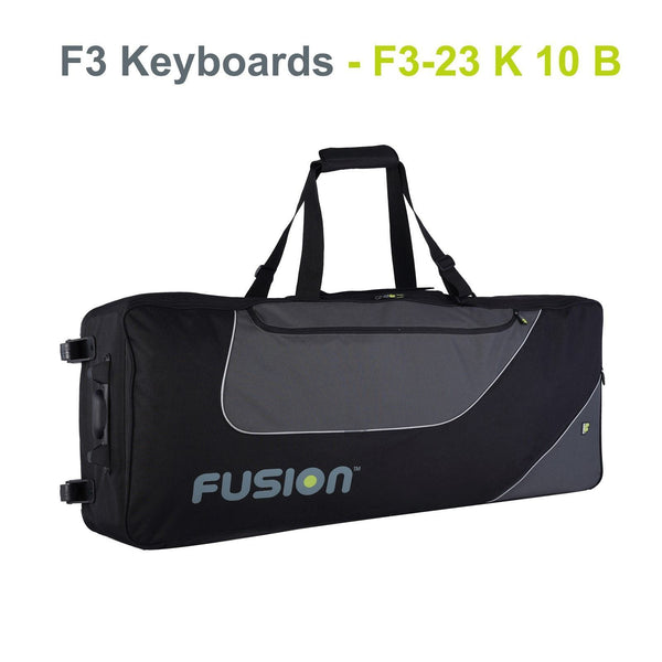 Gig Bag for Keyboard 10 (61-76 keys), Keyboard & Synthesizer gig bags,- Fusion-Bags.com - Keyboard 10 (61-76 keys) Gig Bag - Fusion-Bags.com