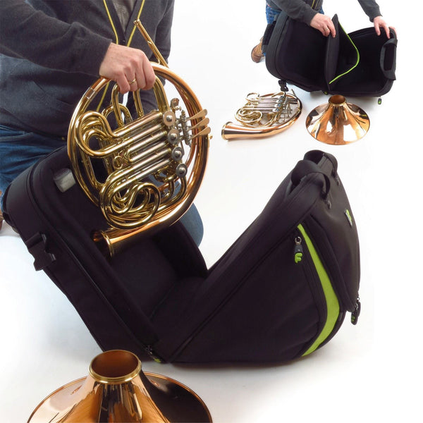Gig Bag for Premium French Horn Bag Detachable, Brass Gig Bags,- Fusion-Bags.com - Premium French Horn Bag Detachable - Fusion-Bags.com