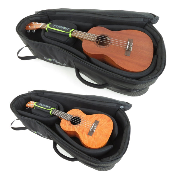 Gig Bag for Urban Double Baritone / Bass Ukulele Bag, Ukulele Gig Bags,- Fusion-Bags.com - Urban Double Baritone / Bass Ukulele Bag - Fusion-Bags.com