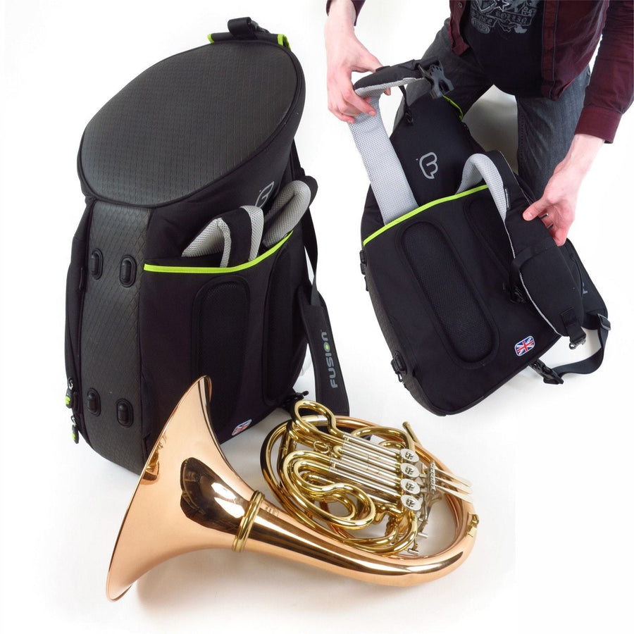 Gig Bag for Urban French Horn Fixed Bell Bag, Brass Gig Bags,- Fusion-Bags.com - Urban French Horn Fixed Bell Bag - Fusion-Bags.com