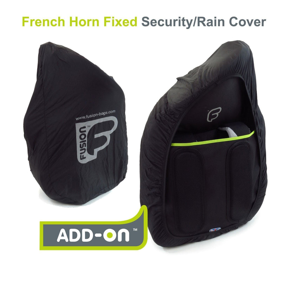 Gig Bag for Urban French Horn Fixed Rain Cover, Rain Cover,- Fusion-Bags.com - Urban French Horn Fixed Rain Cover - Fusion-Bags.com
