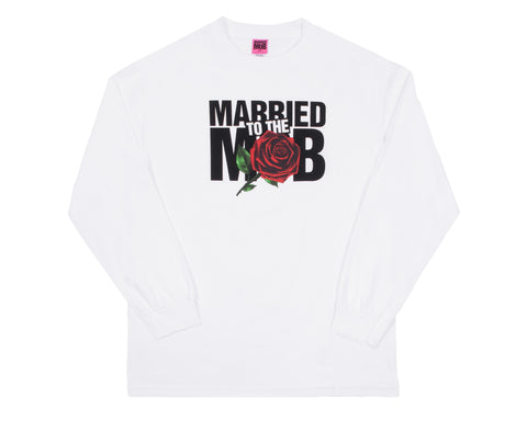 LADIES ROSE LS WHITE