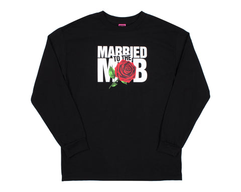 LADIES ROSE LS BLACK