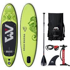 AQUA MARINA BREEZE OPPUSTELIG ALLROUND AIR SUP PAKKE INKL PADLE