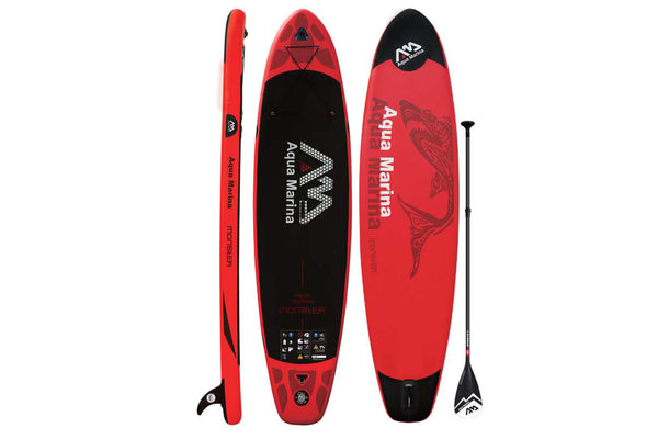 AQUA MARINA MONSTER OPPUSTELIG ALLROUND AIR SUP PAKKE INKL PADLE