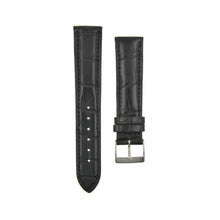 "Load image into Gallery viewer, Silky Shine ""Louisiana"" Alligator Watchstrap Noir Black"
