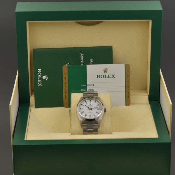 Rolex Air King 14000 near NOS