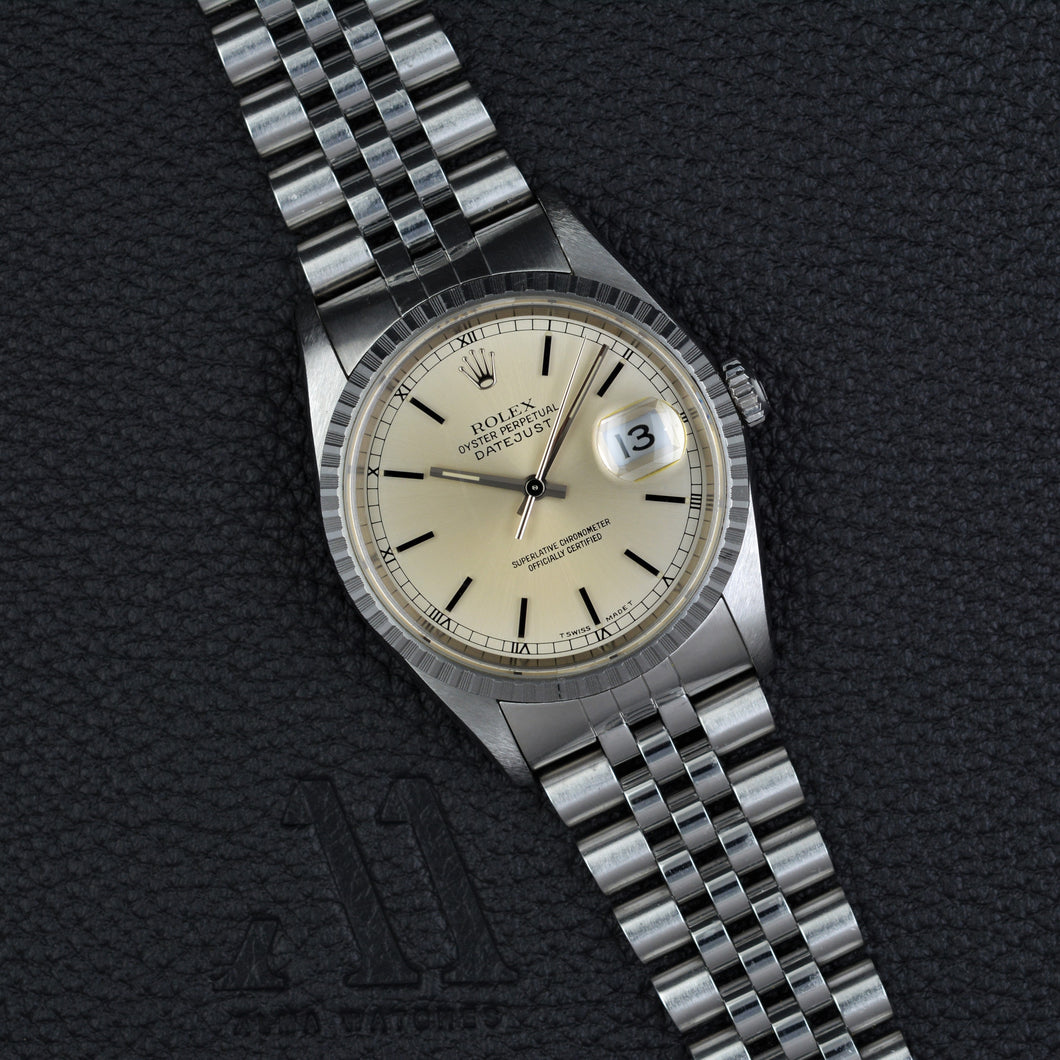 Rolex Datejust 16220 Mint Full Set
