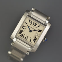 Load image into Gallery viewer, Cartier Tank Francaise Lady