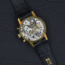 Load image into Gallery viewer, BWC Swiss 750 Gold Chronograph Mint